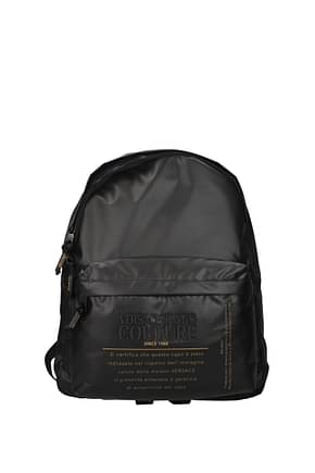 Versace Jeans Backpack and bumbags couture Women Polyamide Black