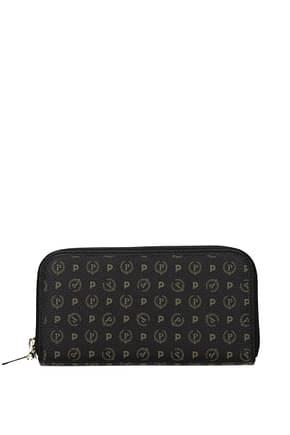 Pollini Wallets Women PVC Black Black