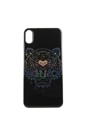 Kenzo iPhone cover iphone xs max Men Plastic Black Multicolor
