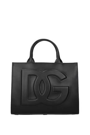 Dolce&Gabbana Bolsos de mano daily Mujer Piel Negro