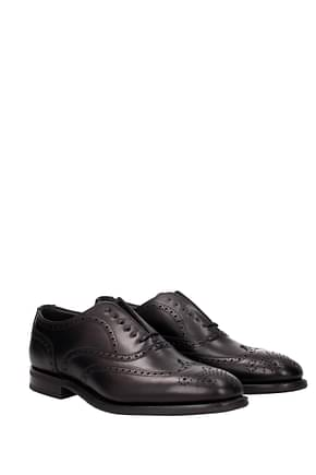 Church's Lace up and Monkstrap Men Leather Black
