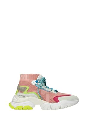 Moncler Sneakers Women Fabric  Pink