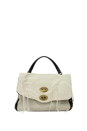 Zanellato Handbags postina s cleopatra Women Fabric  Beige Black