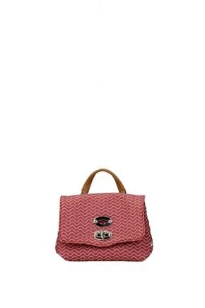 Zanellato Handbags postina superbaby blandine Women Fabric  Red Strawberry