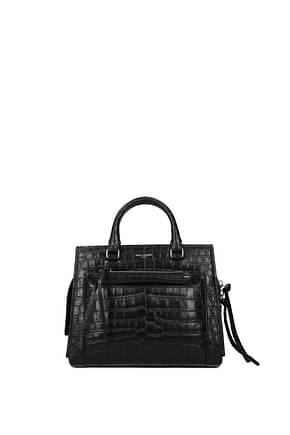 Saint Laurent Handbags sac east side Women Leather Black