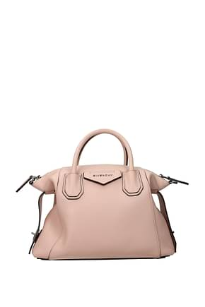 Givenchy Handbags antigona soft Women Leather Pink Candy Rose