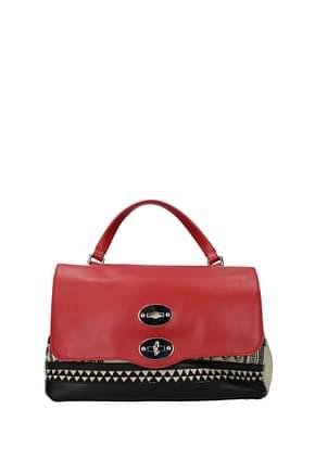 Zanellato Handbags postina s Women Fabric  Beige Red