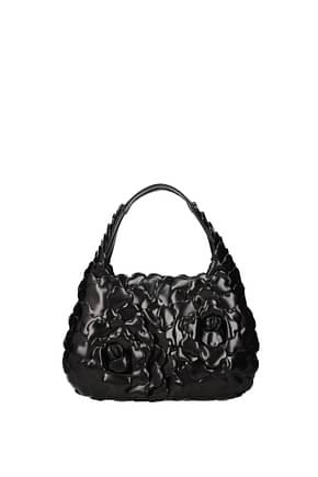 Valentino Garavani Borse a Mano atelier bag 03 rose edition Donna Pelle Nero