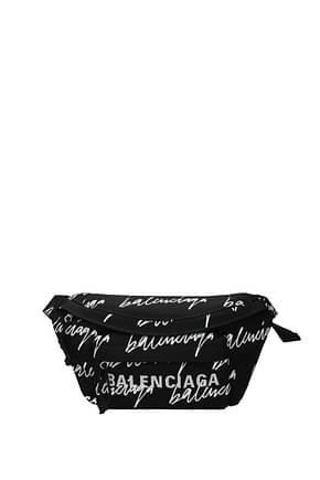 Balenciaga Sacs à dos et Bananes Homme Tissu Noir