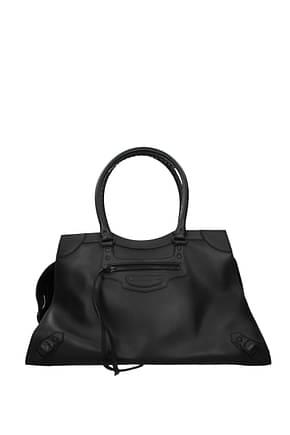 Balenciaga Shoulder bags Women Leather Black