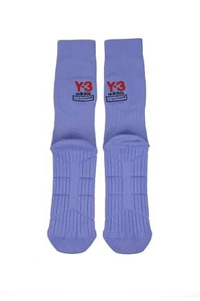 Y3 Yamamoto Calcetines cortos adidas Hombre Algodón Morado Lila