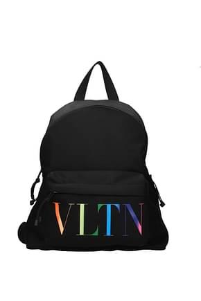 Valentino Garavani Backpack and bumbags Men Fabric  Black Multicolor