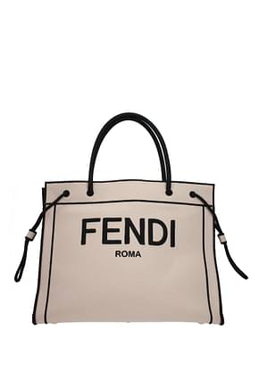 Fendi Handbags Women Fabric  Pink Powder Pink