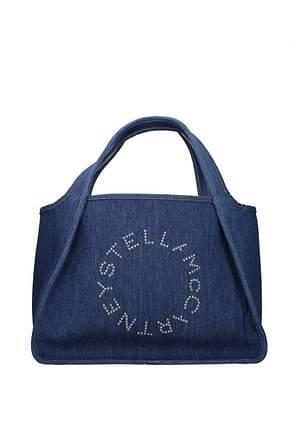 Stella McCartney Shoulder bags Women Fabric  Blue Denim