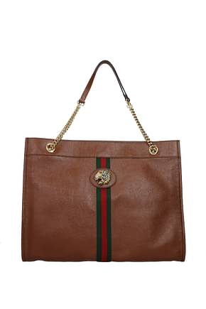 Gucci Shoulder bags Women Leather Brown Leather
