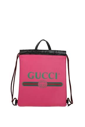 Gucci Zaini e Marsupi Donna Pelle Rosa Rosa Fluo