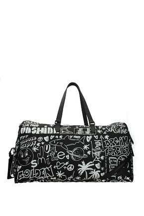 Golden Goose Travel Bags Men Fabric  Black