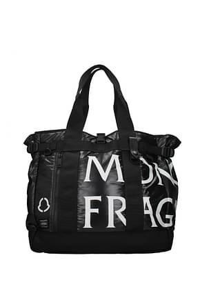 Moncler Shoulder bags Women Fabric  Black