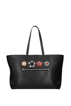 Fendi Shoulder bags Women Leather Black