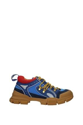 Gucci Sneakers Homme Tissu Bleu