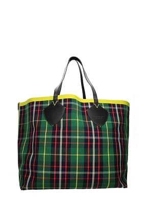Burberry Shoulder bags Women Fabric  Green Dark Blue