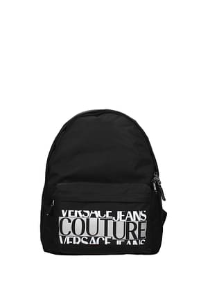 Versace Jeans Backpack and bumbags couture Men Polyamide Black