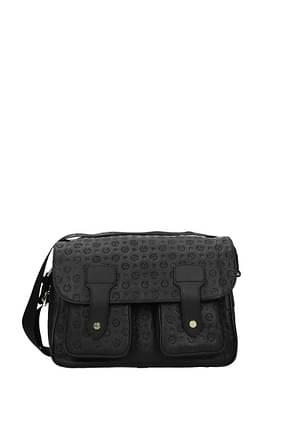 Pollini Crossbody Bag Women Leather Black