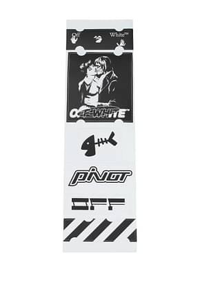 Off-White Geschenk stickers set Herren Papier Schwarz Weiß