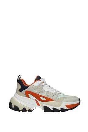 Michael Kors Sneakers nick Men Leather Beige Mandarin