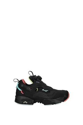Reebok Sneakers Women Fabric  Black