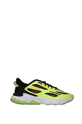 Adidas Sneakers ozweego Hombre Caucho Amarillo Chartreuse