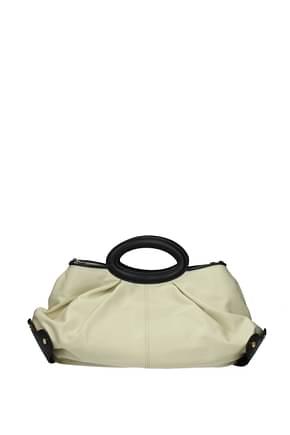 Marni Handbags Women Leather Beige Black