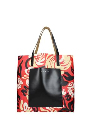 Marni Shoulder bags Women Fabric  Multicolor