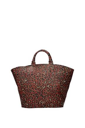 Gum By Gianni Chiarini Handbags Women Rubber Red Brick Red