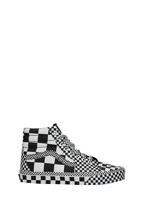 Vans Sneakers Herren Stoff Weiß Schwarz