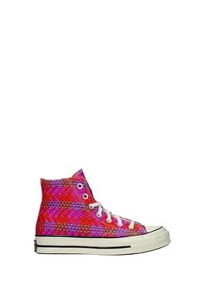 Converse Sneakers Women Fabric  Multicolor