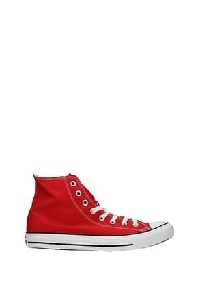 Converse Sneakers Hombre Tejido Rojo