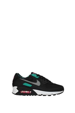 Nike Sneakers air max Women Fabric  Black Jade