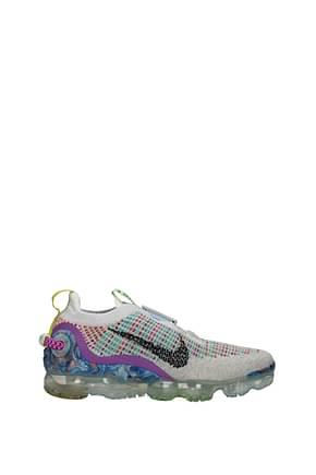 Nike Sneakers Hombre Tejido Gris Multicolor