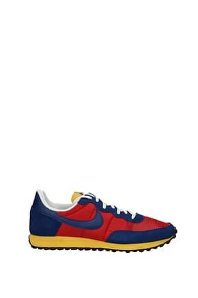 Nike Sneakers challenger og Herren Stoff Rot Blau