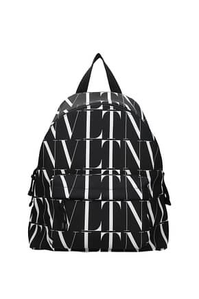 Valentino Garavani Backpack and bumbags Men Fabric  Black