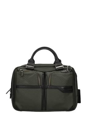 Samsonite Work bags 11l Men Fabric  Green Olive