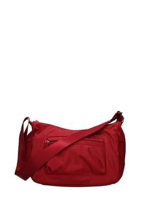 Samsonite Crossbody Bag Women Polyamide Red Dark Red
