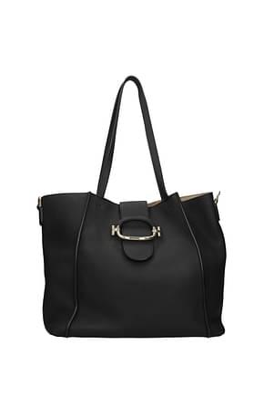 Tod's Shoulder bags Women Leather Black