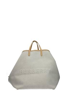 Burberry Handbags Women Fabric  Beige Fawn
