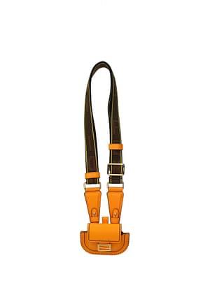 Fendi Geschenk airpods pro cases Damen Leder Orange Braun