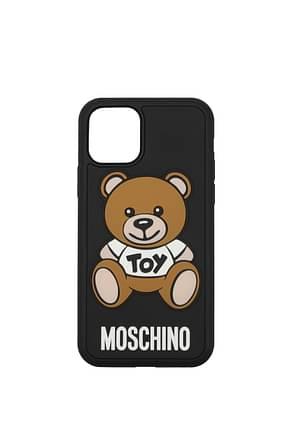 Moschino iPhone Taschen iphone 11 Pro Damen PVC Schwarz