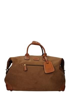 Bric's Reisetaschen Damen PVC Braun Camel