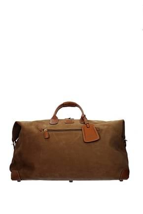 Bric's Reisetaschen Damen PVC Braun Leder