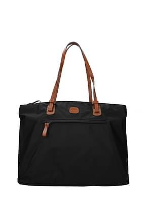Bric's Shoulder bags Women Fabric  Black